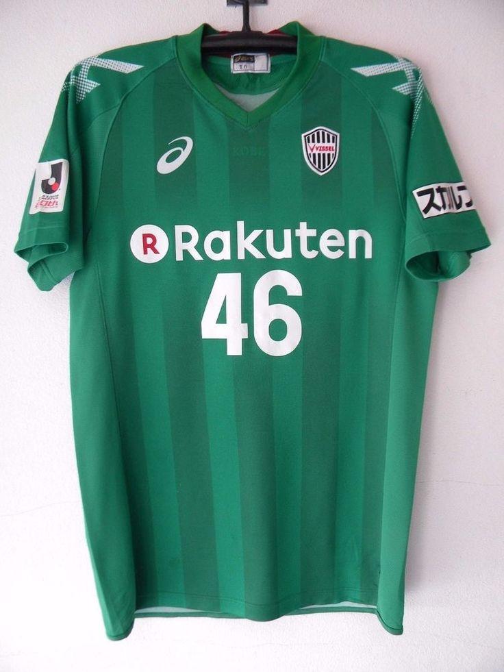 Vissel kobe  Japan J.league Trikot Maillot Football Jersey Asics Player Issue  #Asics #visselkobe