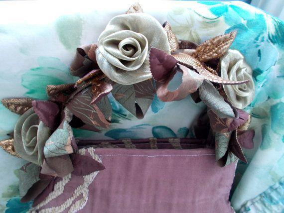 Vintage Peek-A-Boo Dusky-Pink 'Roses' Pretty by TheAtticofKitsch