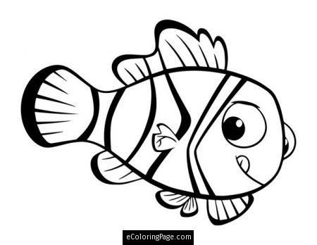 Finding Dory Coloring Pages For Kids
