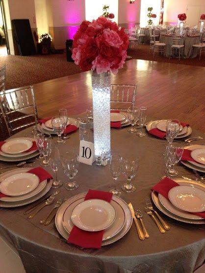 Winter Garden Fl Tanner Hall Wedding Beautiful Table