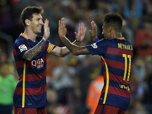 Neymar responds to Lionel Messi's good-luck message on social media