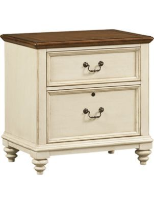 Home Offices, Southport Lateral File   Distressed White, Home Offices