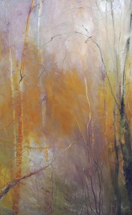 Kathleen Earthrowl Big Thicket XII, 48 x 30, oil, 2009