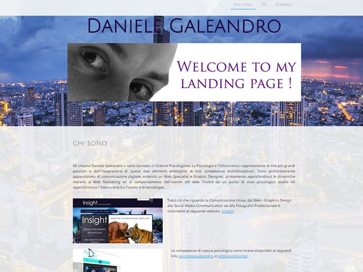 Web Master Daniele Galeandro