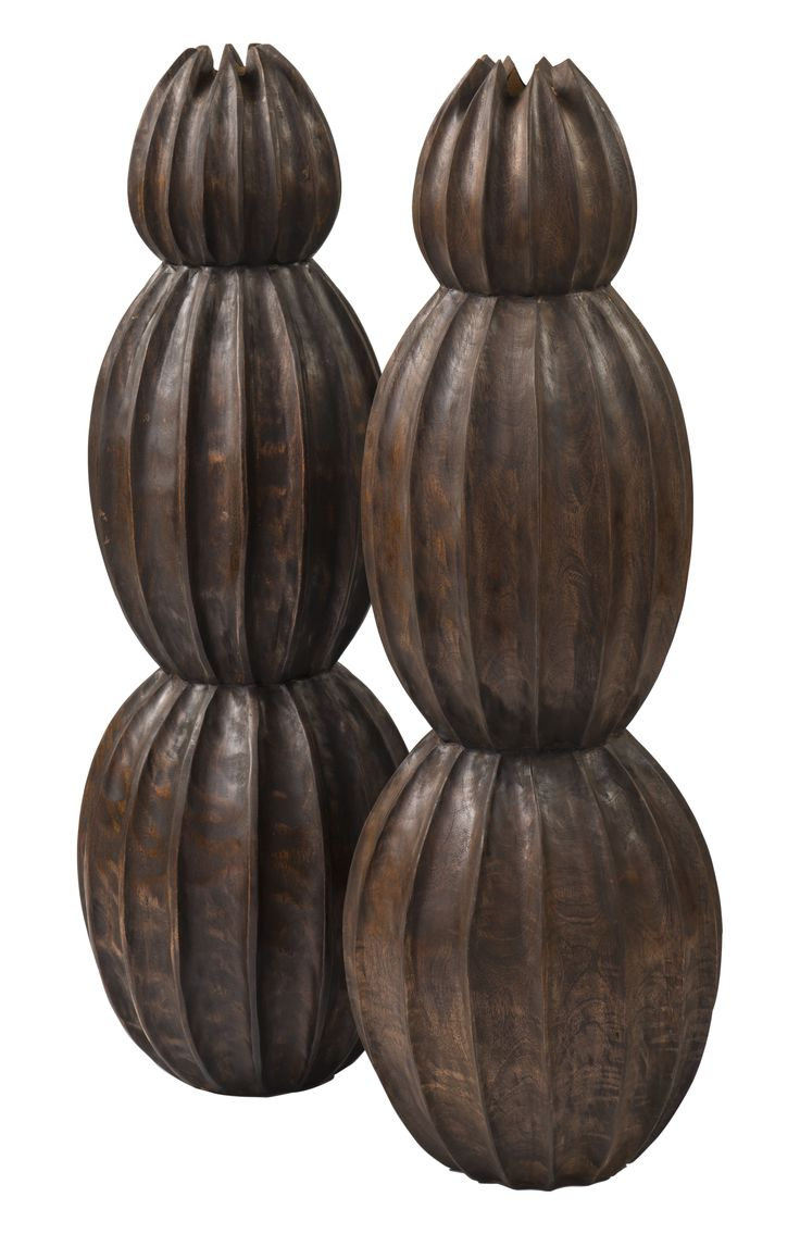 Buy Teak Vessels by Brenda Houston - Quick Ship designer Accessories from Dering Hall's collection of Contemporary Rustic / Folk Mid-Century / Modern Traditional Transitional Organic Decorative Objects.
