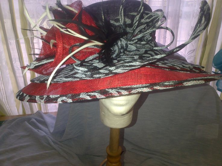 SINAMAY HAT designed by Franchelle Hats. www.franchelle.co.za