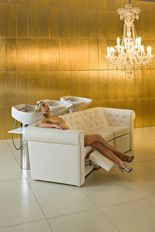 deluge 3 4374, Maletti, Wash units, Hair salon furniture