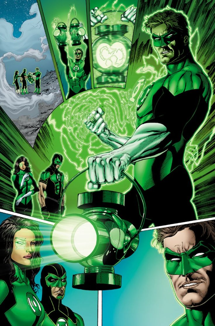 REBIRTH's GREEN LANTERNS Brings Ringslingers 'Back To The Core of the Legacy' | Newsarama.com