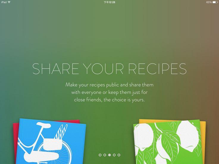 美食app优秀ui