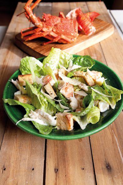 Crayfish Caesar Salad recipe from Annabel Langbein | Inside Cuisine