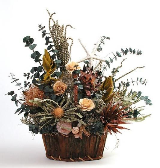 Image Detail for - Dried Flower Arrangements | Flowers In The Garden