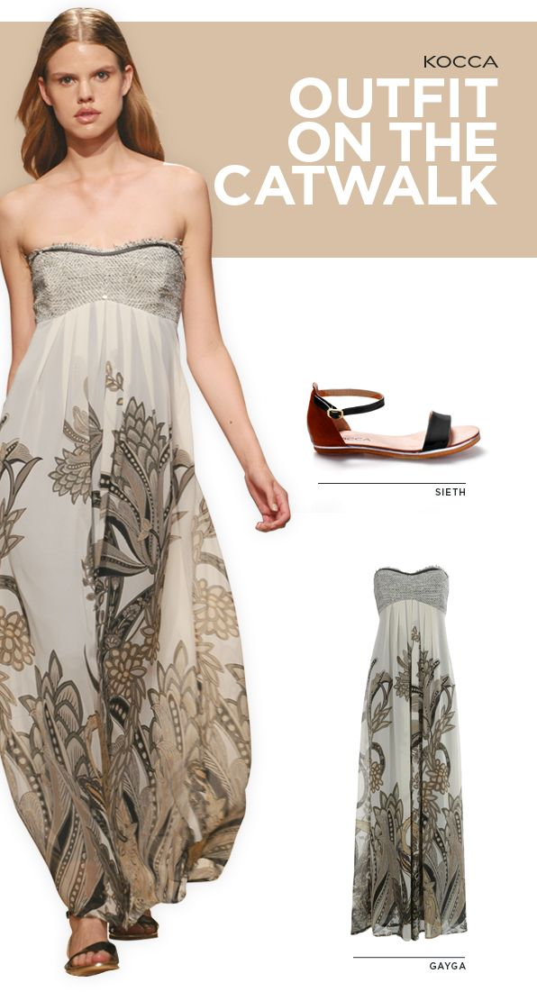 Gipsy Style: sensual and feminine with the #Kocca dress! #Kwoman #fashion #PE14