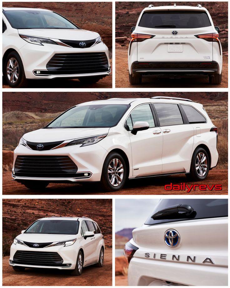 2021 Toyota Sienna Limited in 2020 Toyota sienna, Toyota