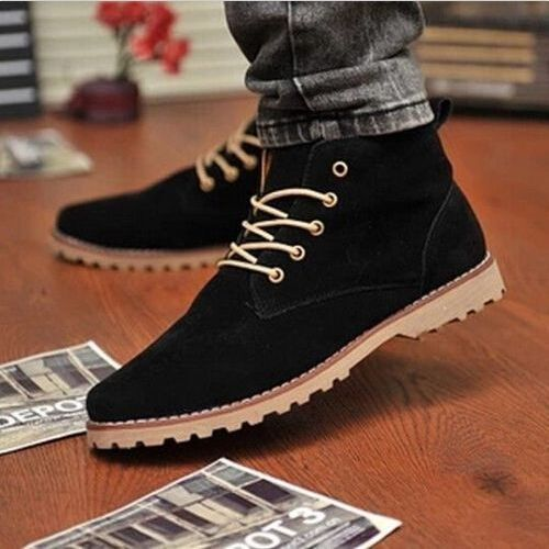 2016 Suede European Style Leather Shoes Men's Oxfords Casual Formal Dress Shoes