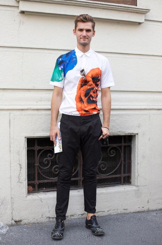 Botanical print button down.: Sander Shirts, Mister Style, Martín Style, Maxi Prints, Botanical Prints, Street Style, Men Fashion, Prints Buttons, Man Style