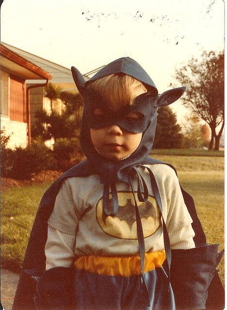Batman in training