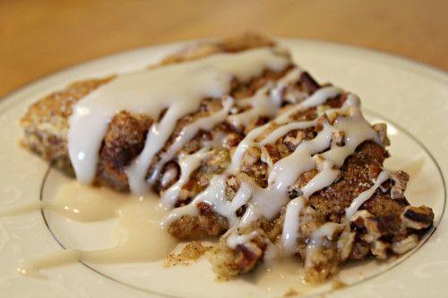 Cinnamon Pecan Scones / Footloose & Gluten-Free blog #glutenfree