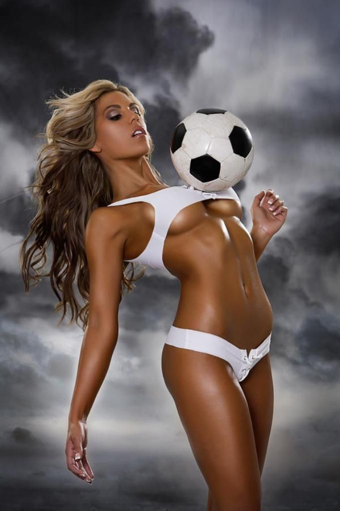 Girls playing soccer nude naked