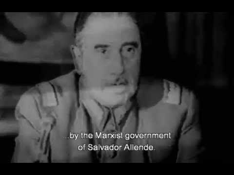 Justificación del golpe militar y medidas adoptadas por la Junta Militar, 11 de septiembre (Generales Pinochet, Merino, Leigth y Mendoza). #Pinochet #golpe #militares