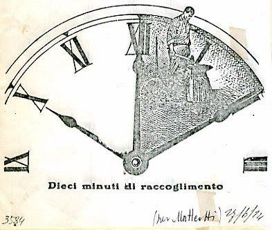 Dieci minuti di raccoglimento per Matteotti, Giuseppe Scalarini, Avanti! 27-6-1924
