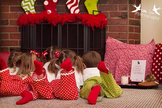 cute christmas pj's: