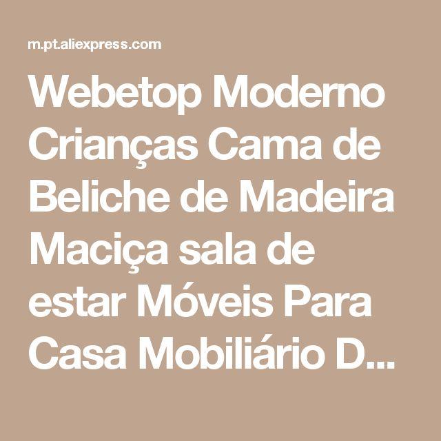 Webetop Moderno Crianças Cama de Beliche de Madeira Maciça sala de estar Móveis Para Casa Mobiliário Doméstico Mãe & Son Camas litera Loja Online | aliexpress móvel
