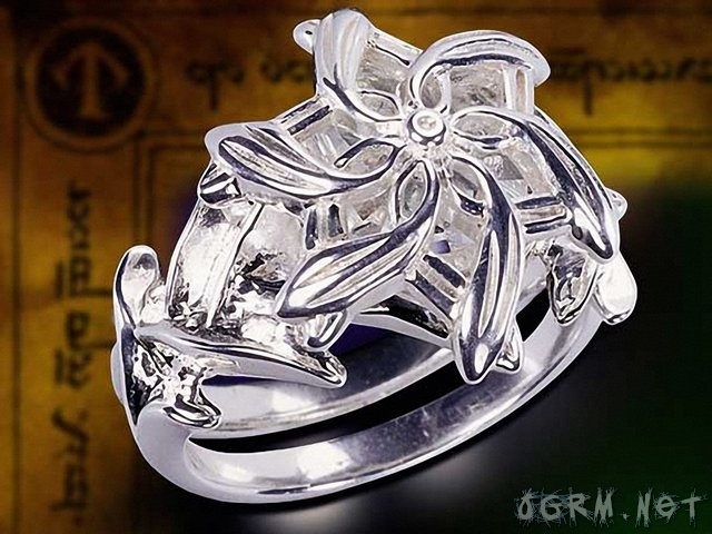 lord of the rings galadriels ring - Lord Of The Rings Wedding Rings