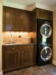 Stacked waher dryer
