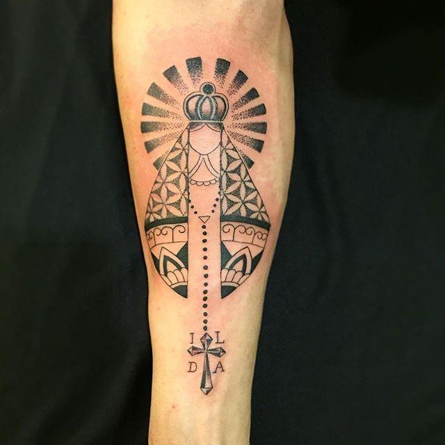 60 Tatuagens de Nossa Senhora da Aparecida (lindas!) | Tattoos, Inspirational tattoos, Mary tattoo