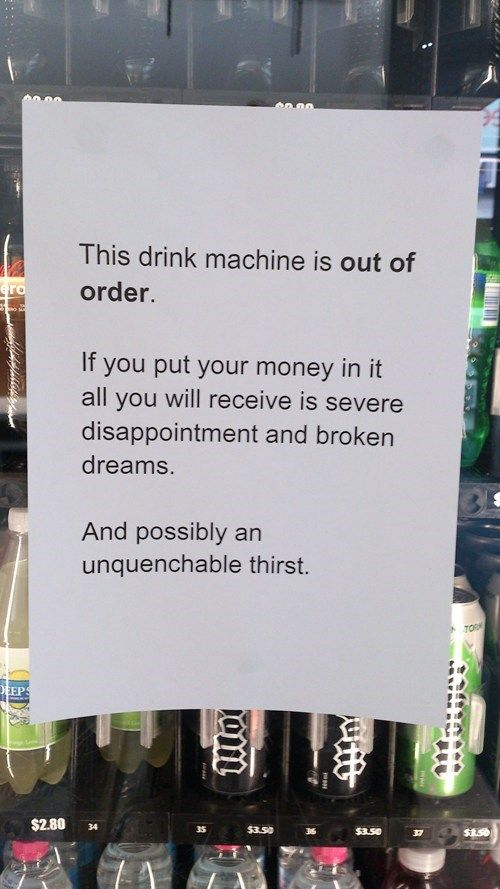 30 Of The Best Sarcastic And Passive Aggressive Office Signs