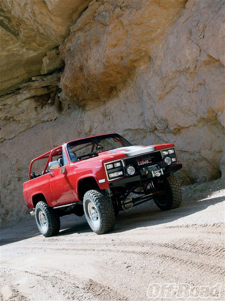 1973 Chevy Blazer Front Right View