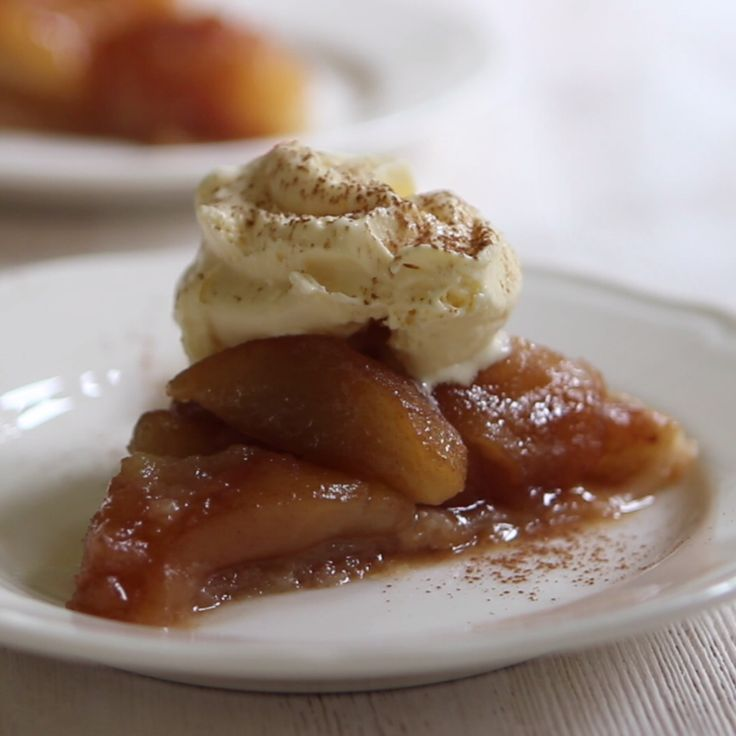 This upside-down French apple tart will have you come back for seconds and thirds.