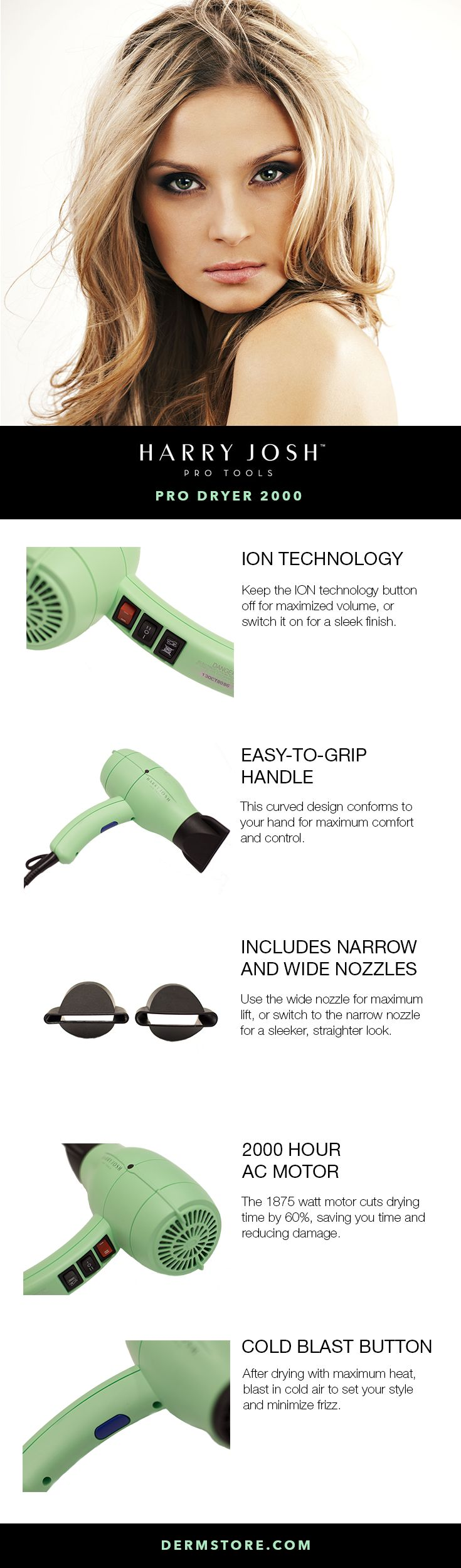When it comes to the best of the best in hair dryers, the Harry Josh dryer is a class above all others, and this is why!