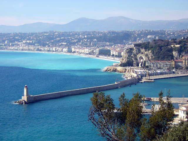 La météo à Nice... Soleil évidemment !