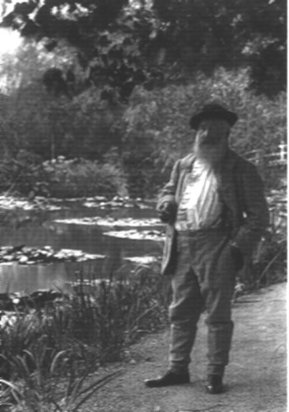 Pierre BOYER: Monet at Giverny