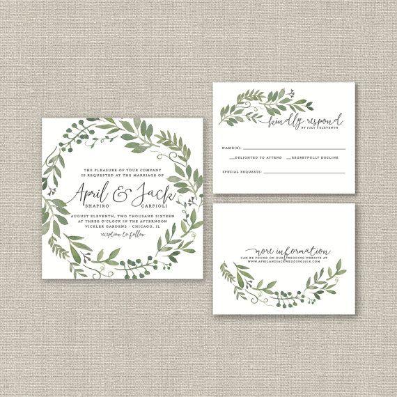 17 best ideas about wedding designs on pinterest wedding for Garden wedding invitation designs