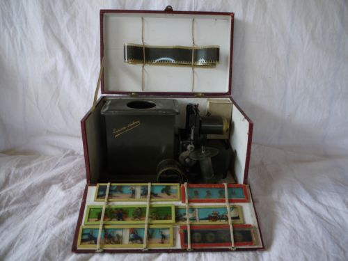 Lanterne-Projecteur-Lapierre-Cinema-3-N-3P-3-P-By-hand-Magic-Lantern