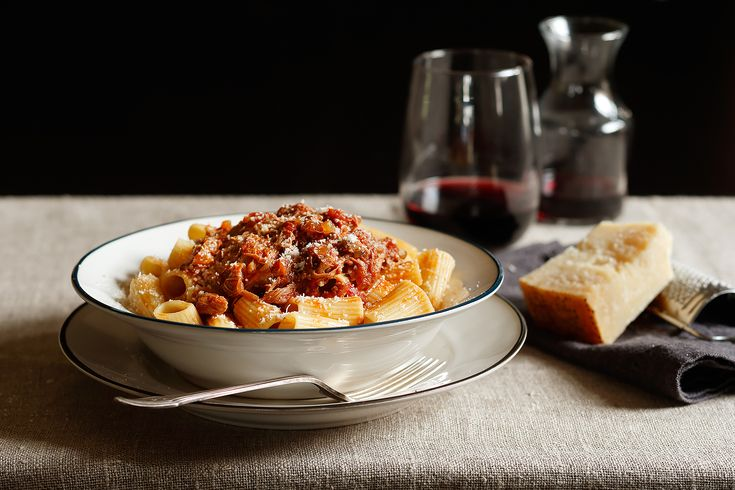 Try This Delicious Slow-Cooker Lamb Ragu with Rigatoni Recipe. View.