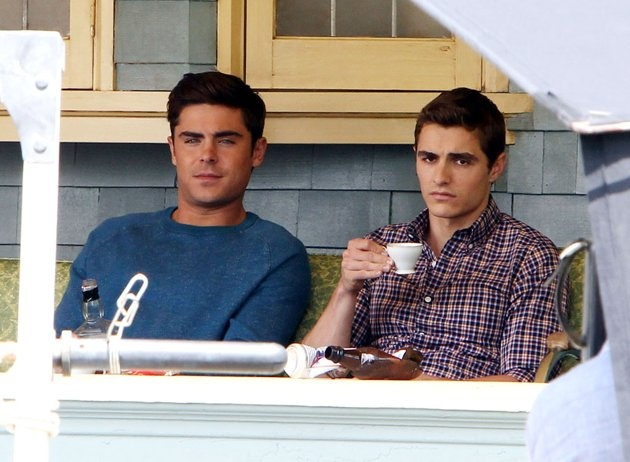 Zac Efron and Dave Franco? Yes please. TowniesSet050713.jpg