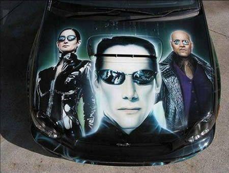 15 Creative Car Paintings (car painting) - ODDEE
