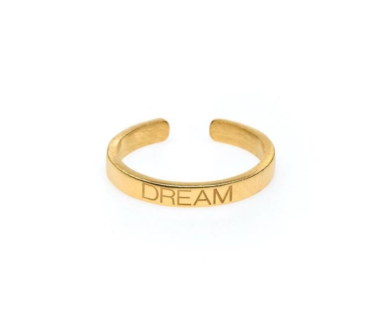 Power Quote DREAM Ring - HeidisHoff.no  #quotering #ring #dream #quote