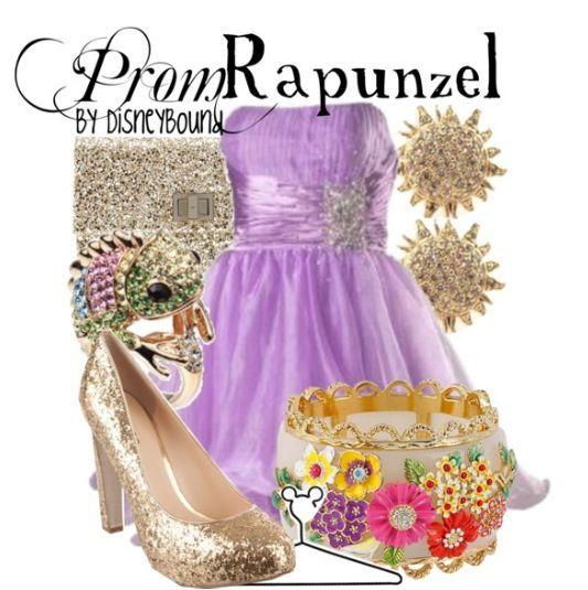 Rapunzle prom