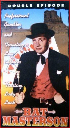 "Gene Barry ""Bat Masterson"" ~ Bat Masterson (1958-1961)"
