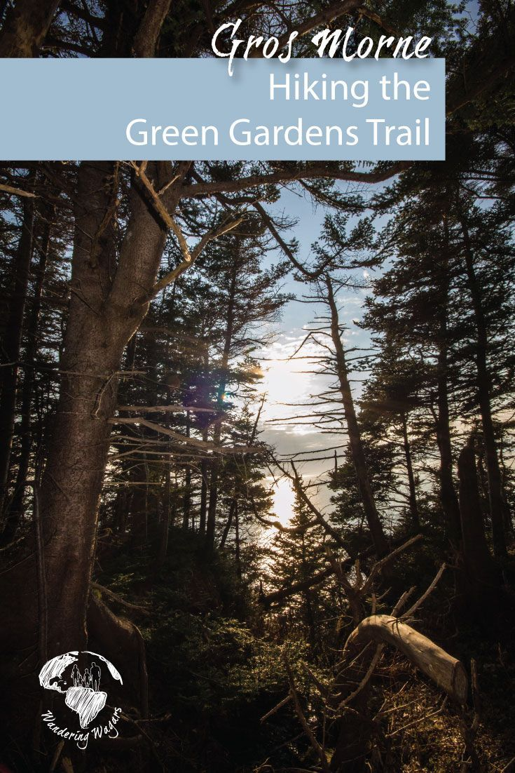 The Green Gardens Trail in Gros Morne National Park is just one of the many hiking trails in the park. It can be completed as a short (9km return) or long (15km) route. The trail offered spectacular views of the coast of western Newfoundland in Canada.