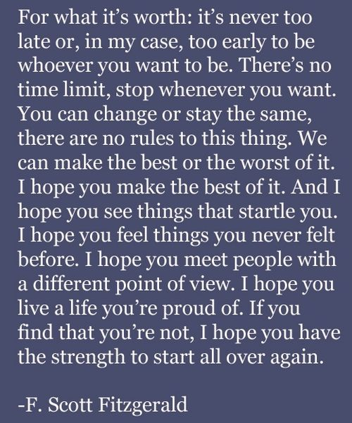 -F. Scott FitzgeraldWords Of Wisdom, Remember This, Inspiration, F Scott Fitzgerald, Well Said, Fscottfitzgerald, Favorite Quotes, Scott Fitzgerald Quotes, Wise Words
