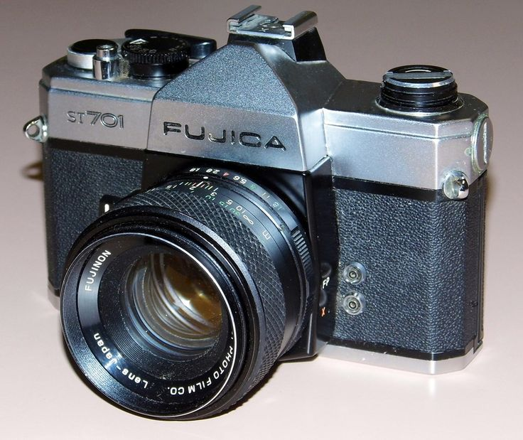 Vintage Fujica ST-701 35mm SLR Film Camera, Circa 1971