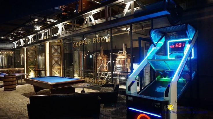 삼성동 라마다 호텔 지하 2층에 위치한 copper room -수제 맥주 공방, 스포츠 바 컨셉(200평 규모)