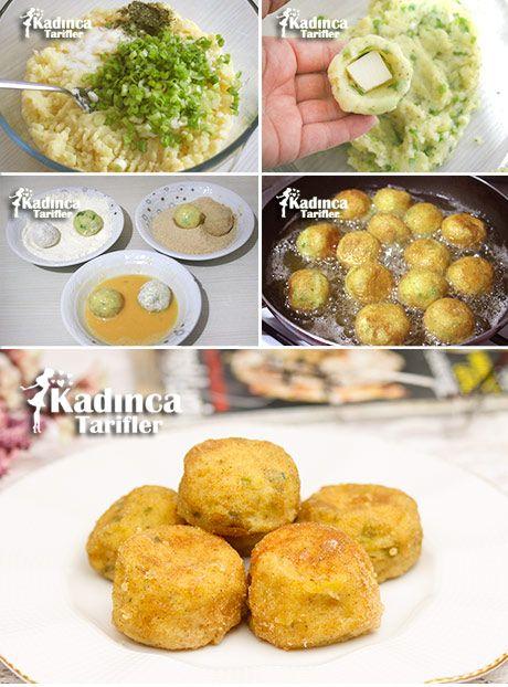 KAŞARLI PATATES TOPLARI TARİFİ http://kadincatarifler.com/kasarli-patates-toplari-tarifi