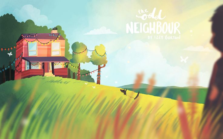 "30 minute speedpaint under the topic ""Odd Neighbour""."
