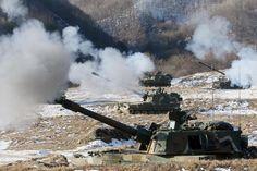 K9 Thunder 155mm Self-Propelled Howitzer, South Korea